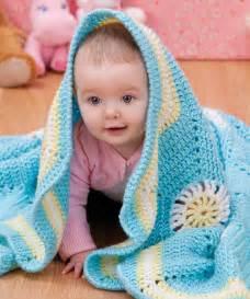 decke baby hexagon baby blanket crochet pattern