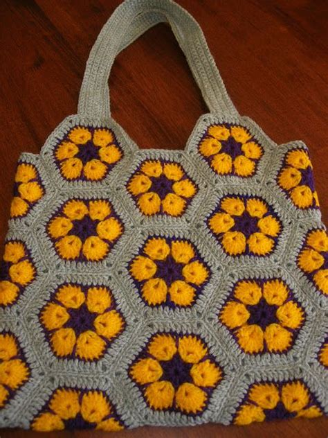 african flower crochet pattern bag 1000 images about handbag african flower on pinterest