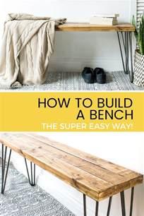 easy bench designs build a bench the easy way grillo designs