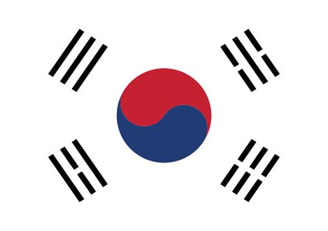South Korea Address Search Free Clipart South Korean Flag Flags