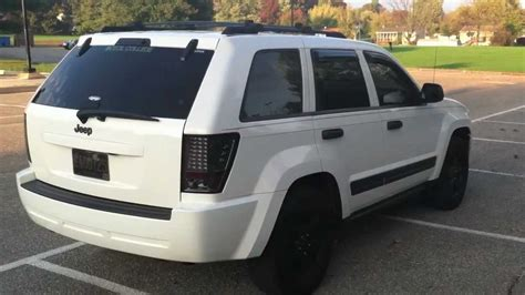modded white jeep unmarked storm trooped and modded 2006 jeep grand