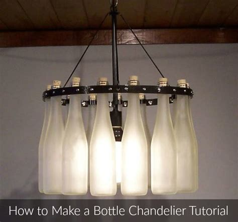 How To Make A Wine Bottle Chandelier 1000 Images About Table Ls Hanging Ls And Lshades On