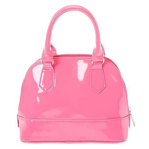 Bag For Pink pink vinyl satchel handbag s us