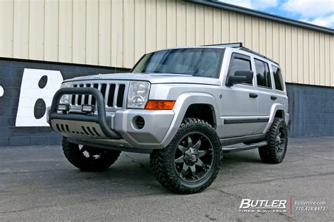 Jeep Commander Wheels Jeep Commander With 20in Fuel Octane Wheels Exclusively