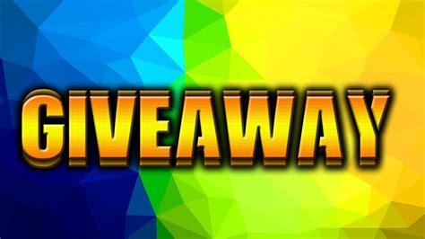 Giveaway For Youtube - give away today on my stream youtube