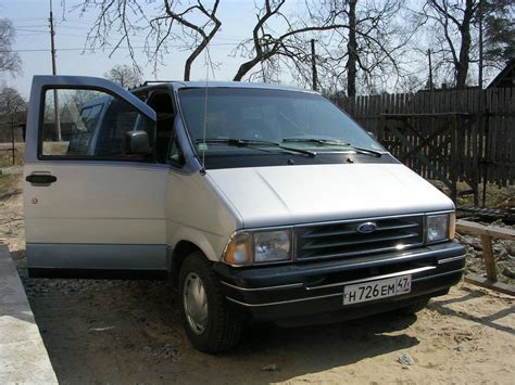 ford aerostar 1990 ford aerostar information and photos zombiedrive