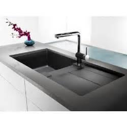 Ideas Design For Kitchen Sink With Drainboard Blanco Silgranit Granite Composite Topmount Drainboard Kitchen Sink Anthracite