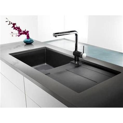 blanco granite kitchen sinks blanco silgranit natural granite composite topmount