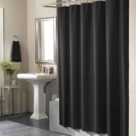 black shower curtains black hookless shower curtain decor ideasdecor ideas