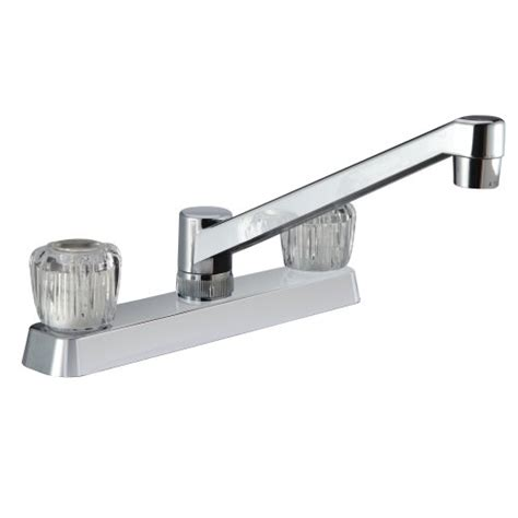 kitchen faucet weight dura faucet df pk600a cp two handle rv kitchen faucet