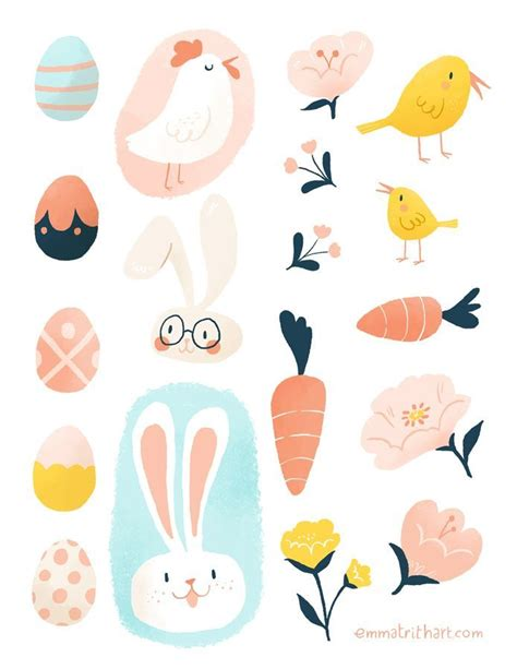 Printable Easter Stickers | 1098 best images about easter printable on pinterest