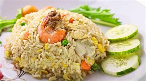 salted fish fried rice  membuat nasi