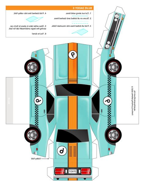 Paper Car - paper car template www pixshark images galleries