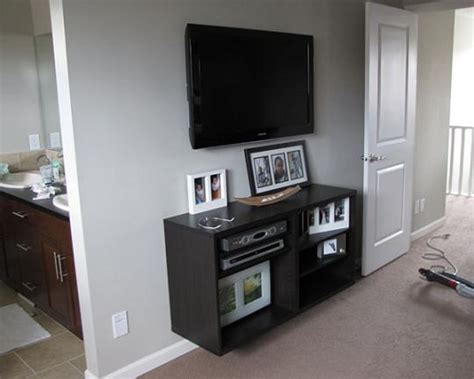 designing home where to put your tv the no cost way to mount a flat screen tv apartment therapy