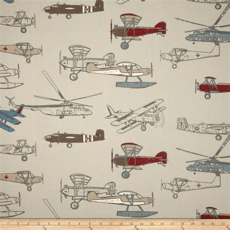 aircraft upholstery fabric premier prints vintage air pewter natural discount