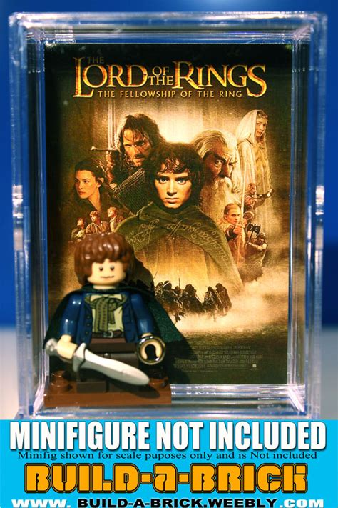 Lord Of The Ring Lego Y2137 Casing Hp Oppo F1 Plus Custom Cover lego lord of the rings minifigure display w custom cardback for frodo based on lotr