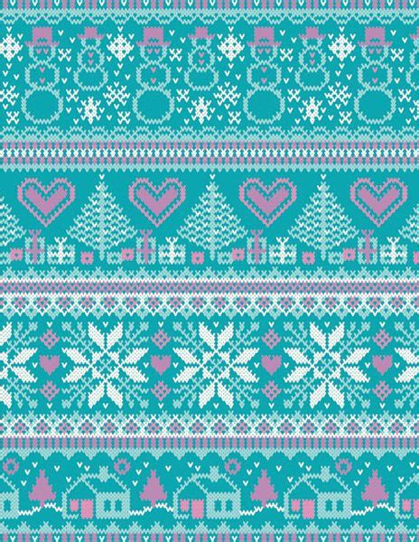 christmas knit wallpaper knit fairisle pattern how delicate knitting