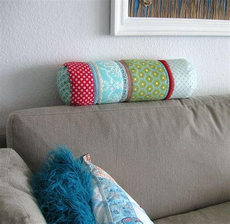 sofa bezug selber nähen anleitung kissenrolle selber n 228 hen wir kissen patchwork