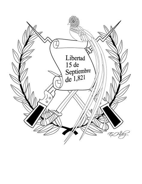 la bandera de honduras para colorear dibujos de los simbolos patrios miblogchapin s blog