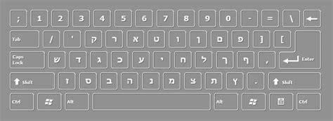 microsoft word hebrew keyboard layout hebrew keyboard layout free download on screen keyboard