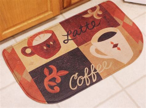 coffee memory foam kitchen rug coffee decor cushion slice rug 18 x30 ebay