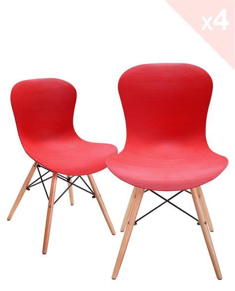 lot 4 chaises nuts lot de 4 chaises design pi 233 tement h 234 tre kayelles com