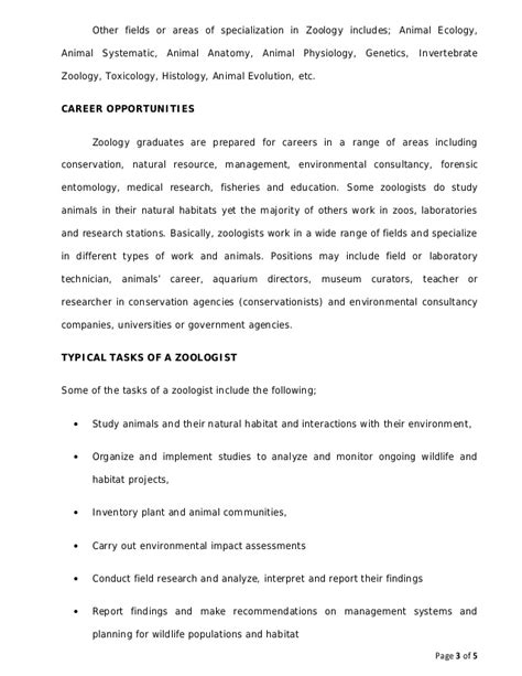 zoology topics for a research paper research paper in zoology