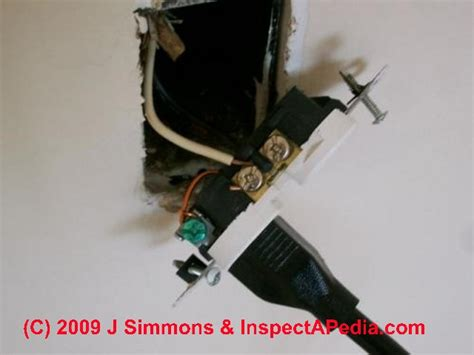 false ground or false neutral electrical wiring
