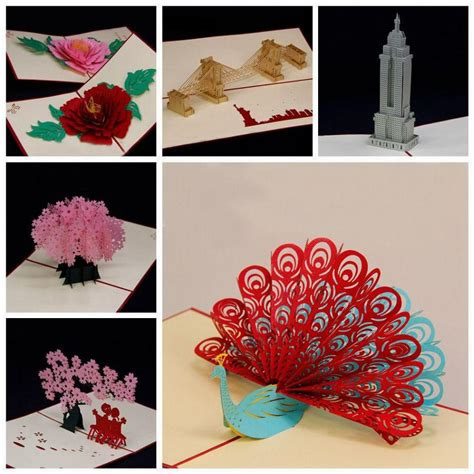 Amazing Handmade Birthday Cards - amazing handmade greeting cards kirigami 3d pop up card