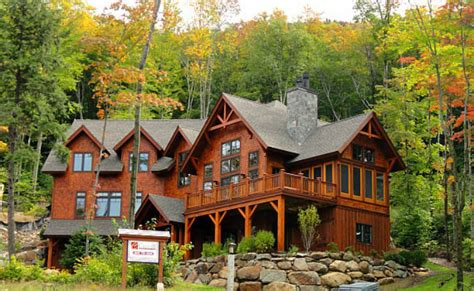 Mountain Home Cabins Nh by Slope Side Custom Homes At Loon Mountain New Hshire