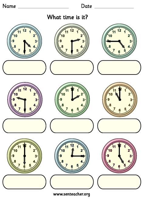 clock worksheets quarter past worksheet containing 9 analogue clocks showing o clock