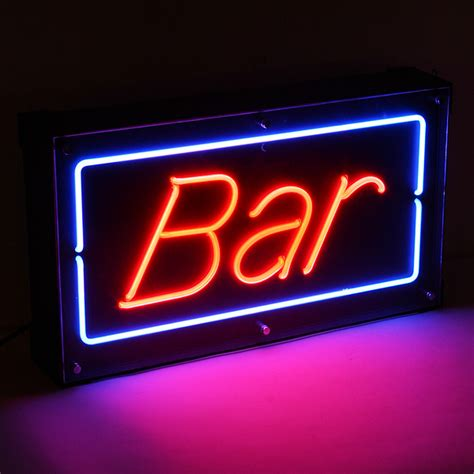 Neon Bar Lights by Bar Neon Sign Drinkstuff