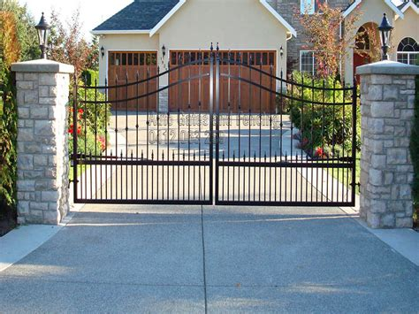 swinging gates arched swing gates auto gates and fencing