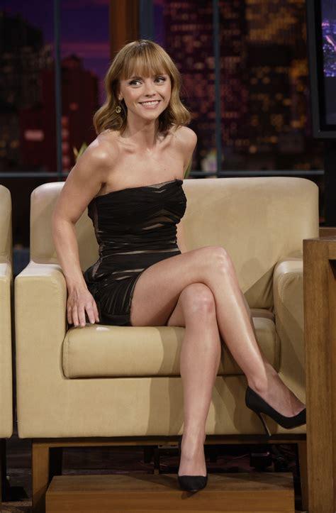 Naked Pics Of Christina Ricci - christina in a pretty short black dress and high heels x