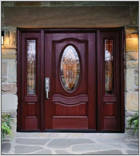 Exterior Fiberglass Doors With Sidelights 1000 Ideas About Fiberglass Entry Doors On Pinterest Entry Doors Entry Door With Sidelights