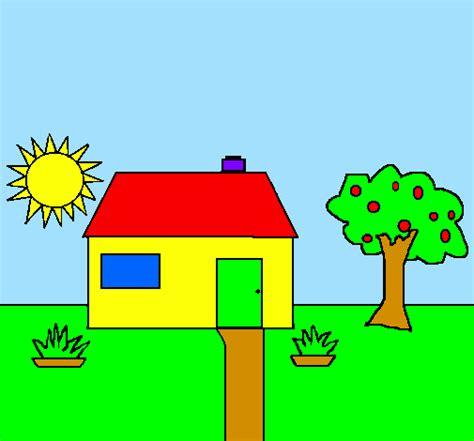 desenho de casas desenho de casa v pintado e colorido por usu 225 n 227 o