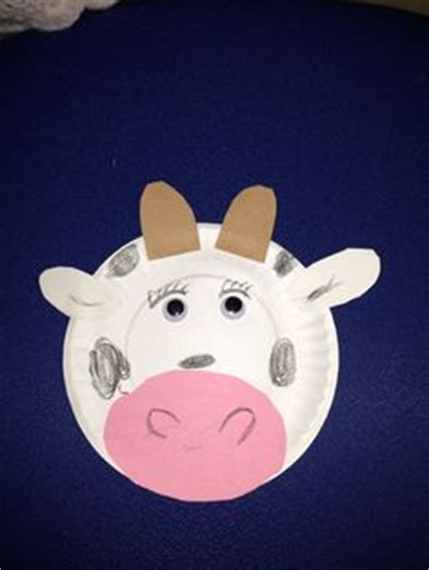 paper plate cow craft 1000 images about letter cc on cow craft