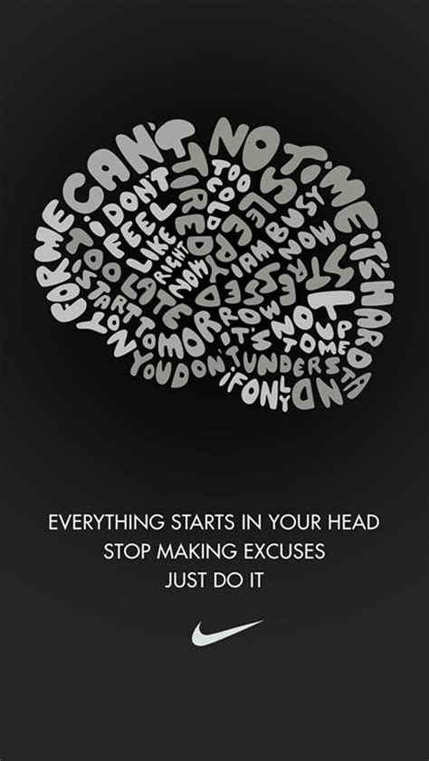 wallpaper iphone 5 fitness tap and get the free app art creative nike quotes just do