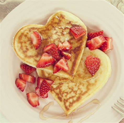 valentine s day brunch ideas heart shaped pancakes