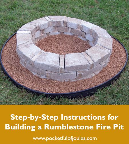 rumblestone pit building a rumblestone pit pocketful of joules