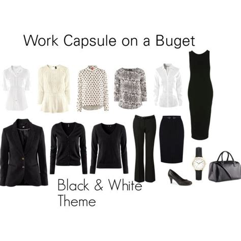 Professional Wardrobe On A Budget by Work Wardrobe On A Budget Polyvore Style