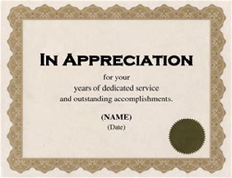free appreciation certificate templates for word free word certificate templates wording geographics