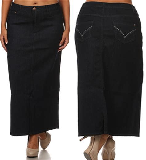 cheap plus size jean skirts bbg clothing