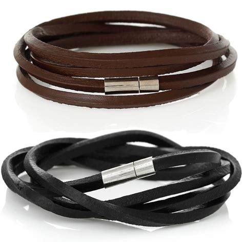 männer armband silber 2417 die besten 25 m 228 nner armband leder ideen auf