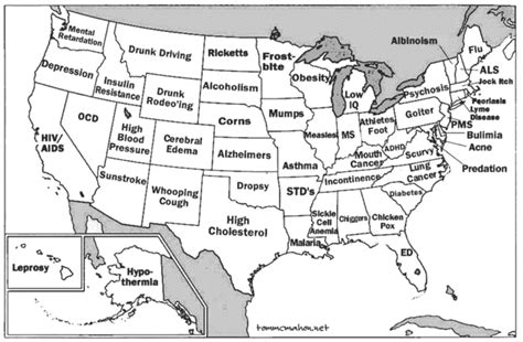 50 states map labeled map of 50 states labeled