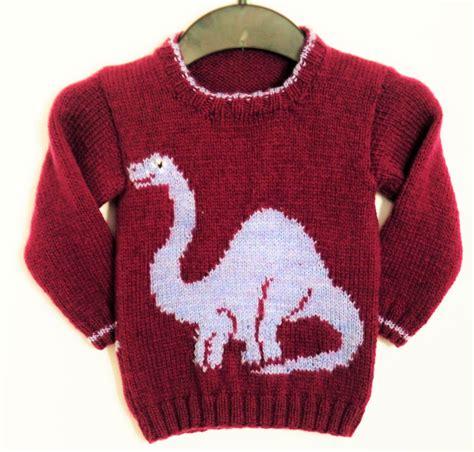 jumper pattern knitting knitting pattern for sweater with dinosaur jumper knitting