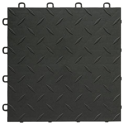 interlocking vinyl floor tiles bathroom blocktile interlocking garage flooring tiles diamond top