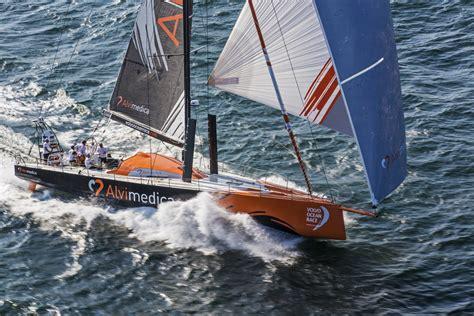 team alvimedica training   volvo ocean race  newport scuttlebutt sailing news