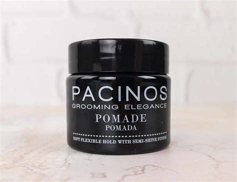 Pomade Pacinos target box for december 2017 review hello