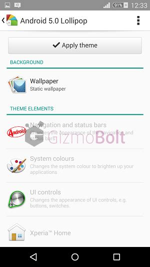 themes for rooted android lollipop xperia android 5 0 lollipop theme for android 4 4 2 non